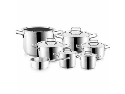 Sada nerezového nádobí Anett, 12 dílů