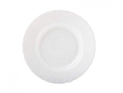 BORMIOLI Talíř skleněný hluboký PRIMA 22,5 cm