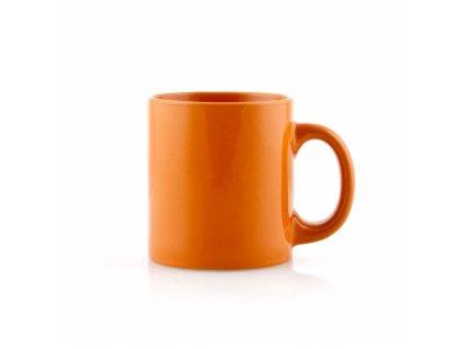 BANQUET Hrnek keramický PROMO 350 ml, oranžový