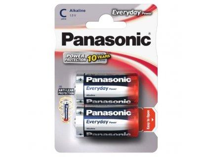 Baterie alkalická Panasonic Everyday Power C, LR14, blistr 2ks