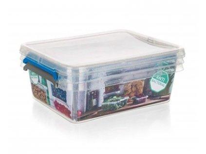 ORPLAST Sada plastových dóz NANO box 1,15 l, 2 ks