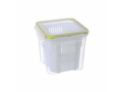 Plastová dóza s těsněním Olivy 0,3 l