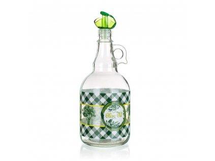 BANQUET Láhev na olej 1000 ml, dekorovaná