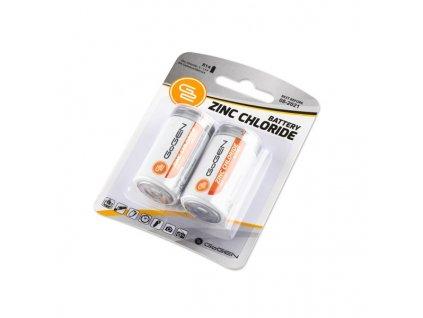 Baterie zinkochloridová GoGEN C, R14, blistr 2ks