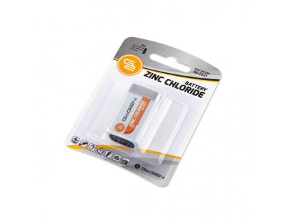Baterie zinkochloridová GoGEN 9V, 6F22, blister 1ks