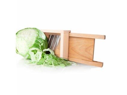 Dřevěné krouhadlo na zeleninu 58 cm