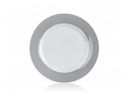 BANQUET Talíř porcelánový dezertní HYPNOTIC 19 cm