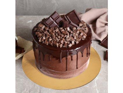 Podložka pod dort oboustranná kulatá, 32 cm