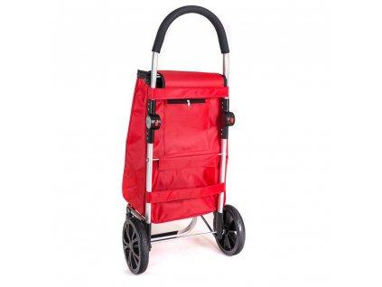 Nákupní taška na kolečkách Brilanz červená, 30 l