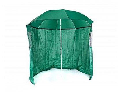 Slunečník s boční stěnou Happy Green, průměr 230 cm