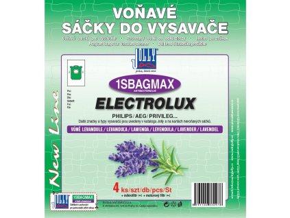 Sáčky do vysavače Jolly MAX 1S BAG sáčky Electrolux - levandule