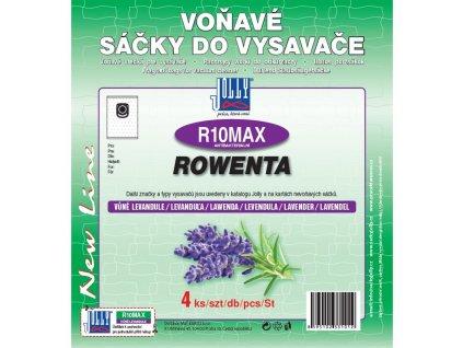 Sáčky do vysavače Jolly MAX R 10 sáčky Rowenta - levandule