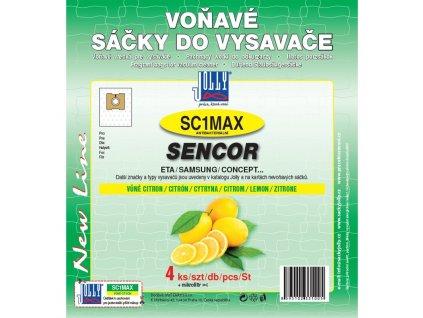 Sáčky do vysavače Jolly MAX SC 1 sáčky Sencor - citron