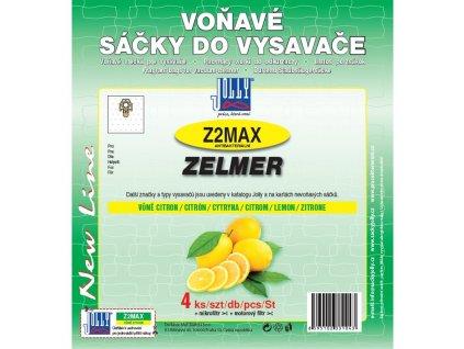 Sáčky do vysavače Jolly MAX Z 2 sáčky Zelmer (4 ks) - citron