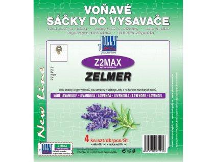 Sáčky do vysavače Jolly MAX Z 2 sáčky Zelmer (4 ks) - levandule