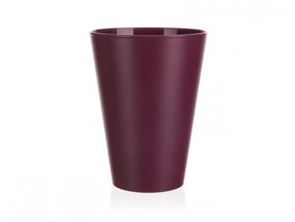 BANQUET Kelímek plastový CULINARIA 400 ml, bordó
