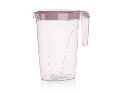 BANQUET Džbán plastový CULINARIA 2 l, růžový