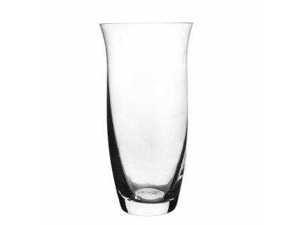 Skleněná váza hladká, 12,5 x 25 cm