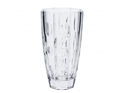 Skleněná váza, 13 x 25 cm