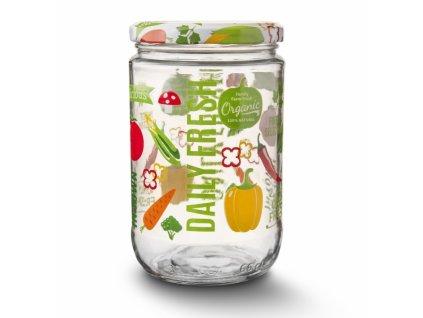Zavařovací sklenice s víčkem Fruit, 0,66 l