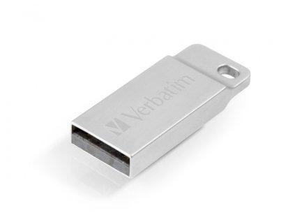 Flash USB Verbatim Store 'n' Go Metal Executive 64GB USB 2.0 - stříbrný