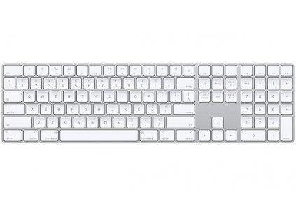 Klávesnice Apple Magic s numerickou klávesnicí - Slovak - bílá
