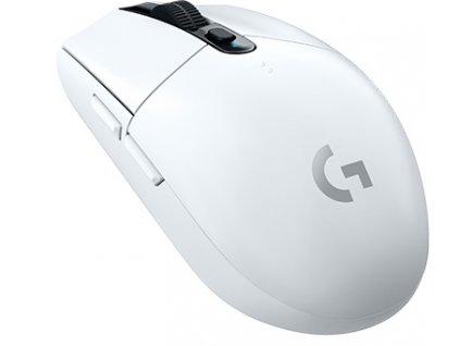 Myš Logitech Gaming G305 Lightspeed Wireless / optická / 6 tlačítek / 12000dpi - bílá