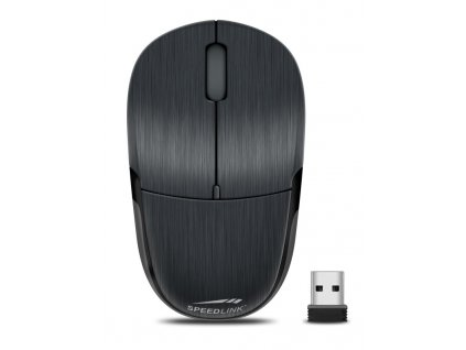 Myš Speed Link Jixster Wireless / optická / 3 tlačítka / - černá