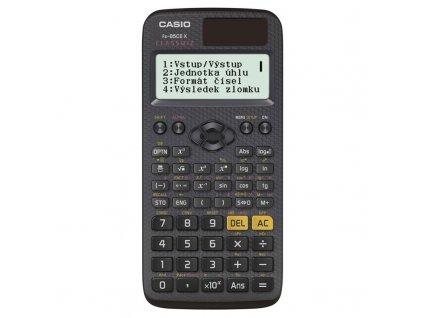 Kalkulaeka Casio ClassWiz FX 85 CE X - eerná