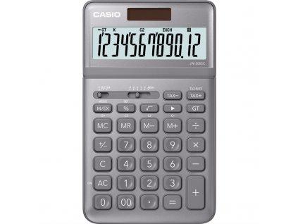 Kalkulačka Casio JW 200 SC GY - šedá