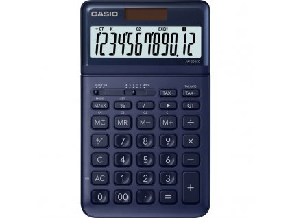 Kalkulačka Casio JW 200SC NY - tmavě modrá