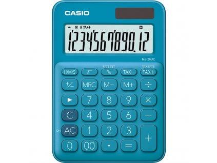 Kalkulačka Casio MS 20 UC BU - modrá