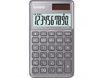Kalkulačka Casio SL 1000 SC GY - šedá