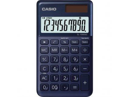 Kalkulačka Casio SL 1000 SC NY - tmavě modrá