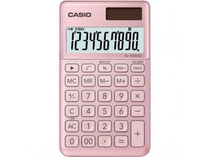 Kalkulačka Casio SL 1000 SC PK - růžová