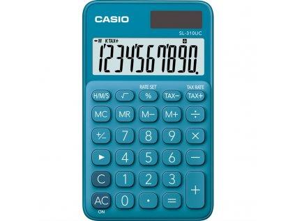 Kalkulačka Casio SL 310 UC BU - tmavě modrá