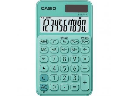 Kalkulačka Casio SL 310 UC GN - zelená