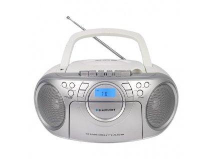 Radiomagnetofon s CD Blaupunkt BB16WH FM PLL CD/MP3/USB/AUX, bílý