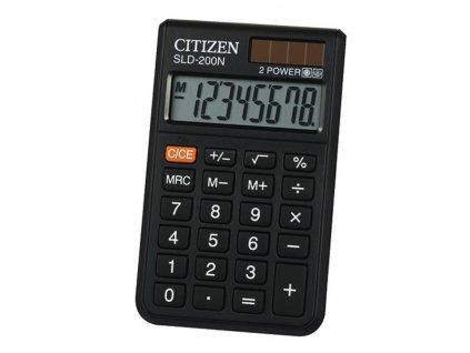 Kalkulačka Citizen SLD-200NR - černá