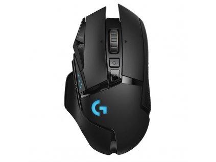 Myš Logitech Gaming G502 Lightspeed Wireless / optická / 11 tlačítek / 25600dpi - černá