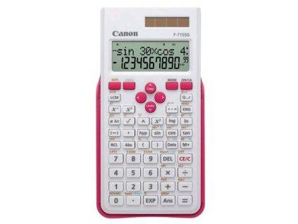 Kalkulačka Canon F-715SG - bílá/růžová