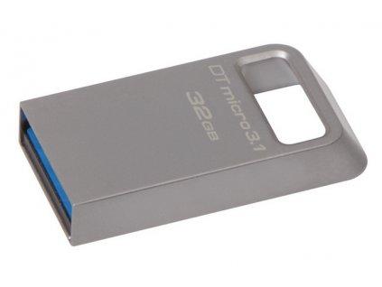 Flash USB Kingston DataTraveler Micro 3.1 32GB USB 3.1 - kovový