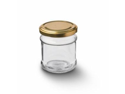 Zavařovací sklenice s víčkem Deva, 0,21 l