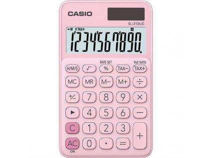 Kalkulačka Casio SL 310 UC PK - růžová