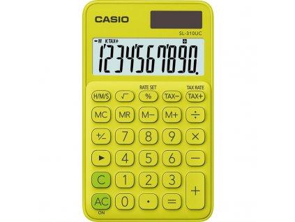 Kalkulačka Casio SL 310 UC YG - žlutá