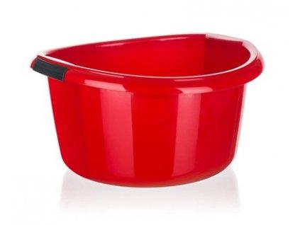 BRILANZ Umyvadlo plastové 25 l, červené