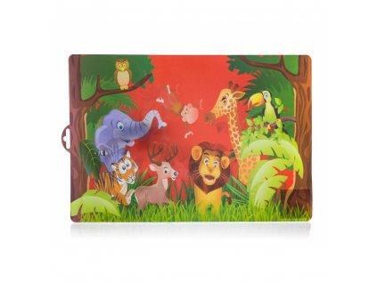 BANQUET Prostírání plastové ZOO 43 x 29 cm