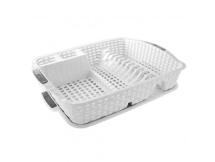 Odkapávač na nádobí s podnosem WHITE