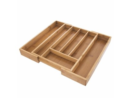 Příborník bambus posuvný 26x35,5x4,5 cm