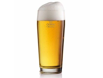 Sklenice pivní JUBILEE cejch 0,5 l